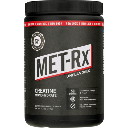creatina met rx performance monohydrate 400g - masa muscular