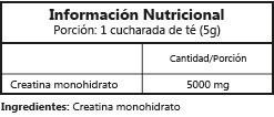 creatina monohydrate 500g sylab