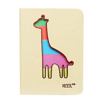 Creativa Color Page Copia Diseño Dibujo Animado Ciervo Hoja - $ 768 ...