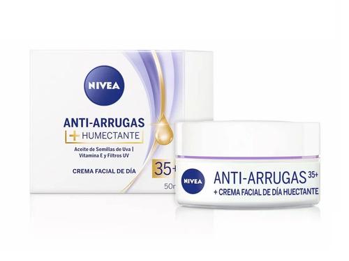 crema nivea antiarrugas humectante +35