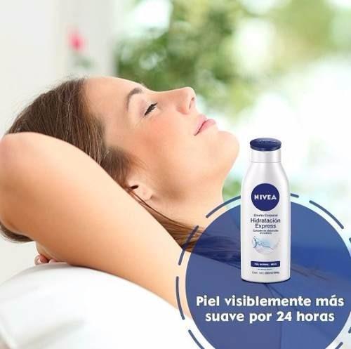 crema nivea hidratación express 400ml