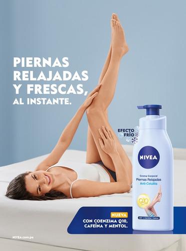 crema nivea piernas relajadas anti-celulitis 400ml