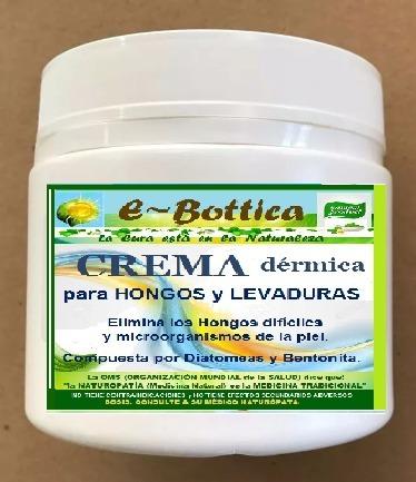 Crema para hongos piel