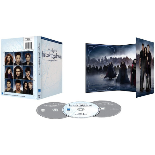 crepúsculo - amanecer, parte 2 - edición exclusiva de 3 dvd!