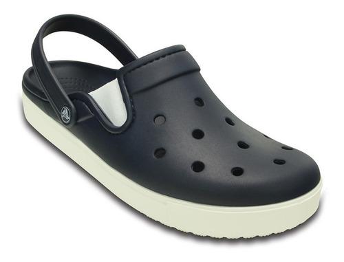 crocs citilane navy/white unisex - crocs uruguay