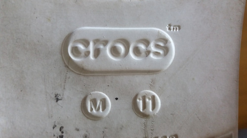 crocs citilane talle m11, 2 usos