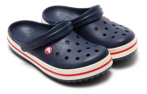 crocs crocband originales navy azules - crocs uruguay
