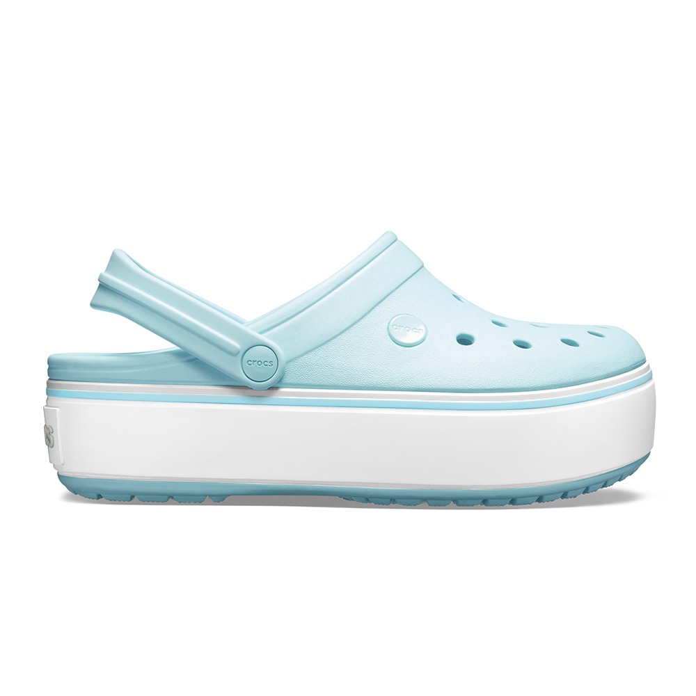 c1a4fd551a13 crocs crocband platform clog ice blue - crocs uruguay. Cargando zoom.