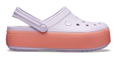 crocs crocband platform clog lavander - crocs uruguay