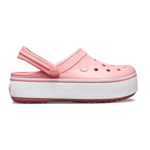 crocs crocband platform clog rosadas - crocs uruguay