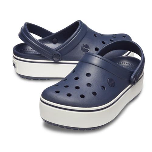 crocs crocband platform navy - crocs uruguay