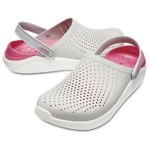 crocs literide pearl/white - crocs uruguay