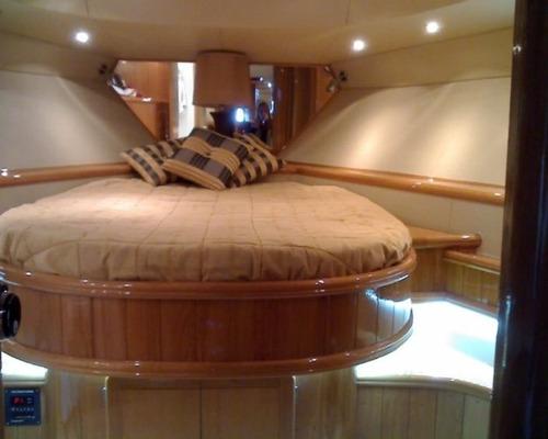 crucero meridiano 57 2x500hp mtu  1999 diesel gatti barcos