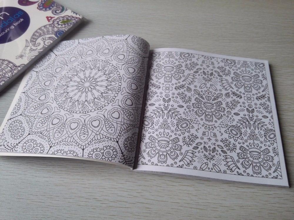 Cuaderno Libro De Mandalas Para Colorear   $ 249,00 en Mercado Libre