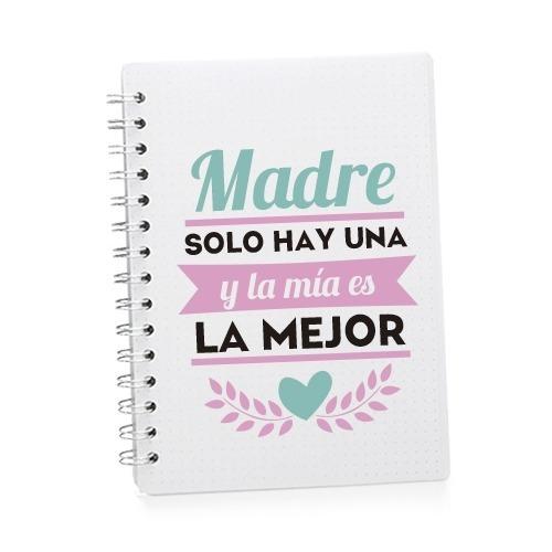 cuaderno personalizado/ bolsa de semillas personalizada