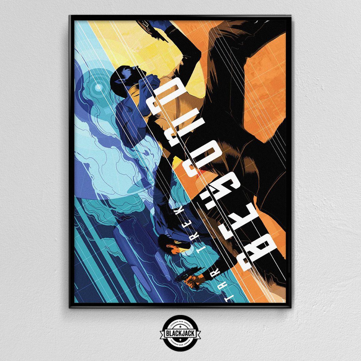Cuadro 30x40 Marco Slim Star Trek Pelicula Poster Cine 2 - $ 450,00 ...