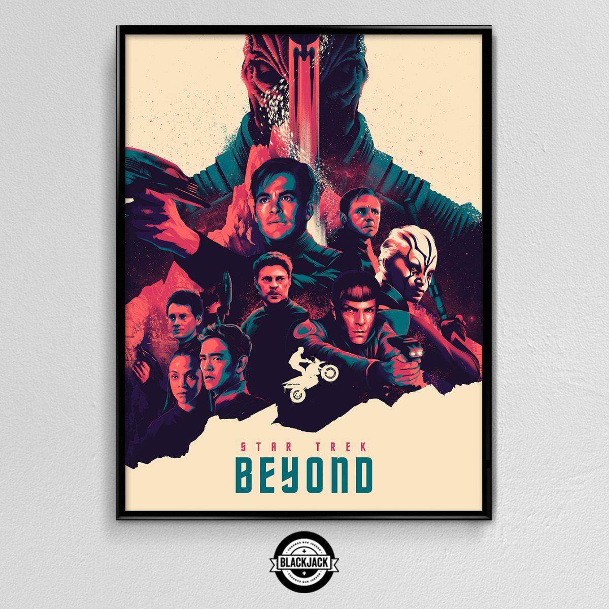Cuadro 30x40 Marco Slim Star Trek Pelicula Poster Cine Deco - $ 450 ...
