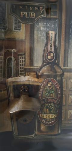 cuadro c/ destapador para el parrillero abirdor botellas