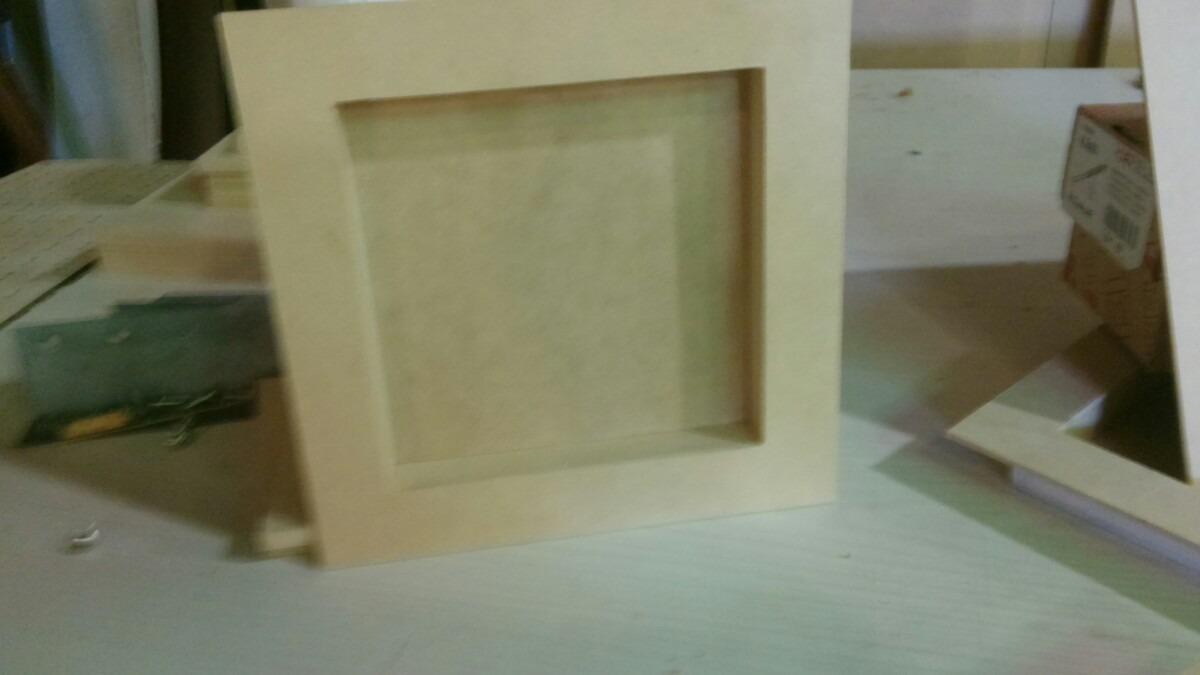 Cuadro Con Profundidad Para Pintar, Somos Fabricantes - $ 120,00 en ...