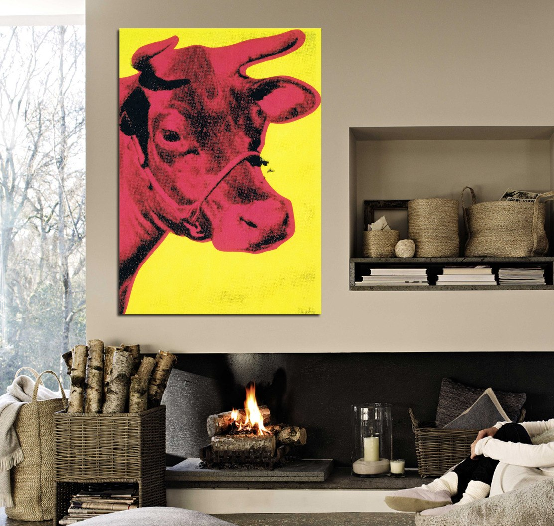 Cuadro Cow By Andy Warhol Pop Art Vaca Animales 40x60cm Life - $ 400 ...