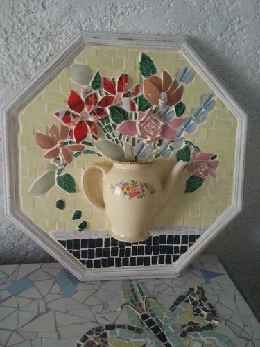 cuadro en mosaico