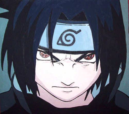 cuadro pintado a mano anime manga friki gamer lol a pedido