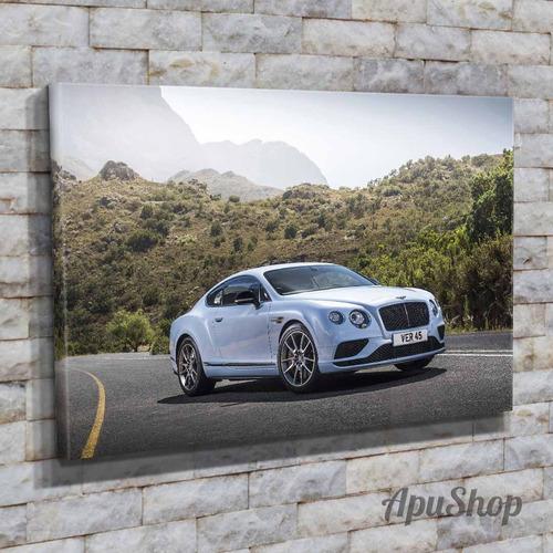 cuadros canvas autos bentley continental rolls royce 75x50