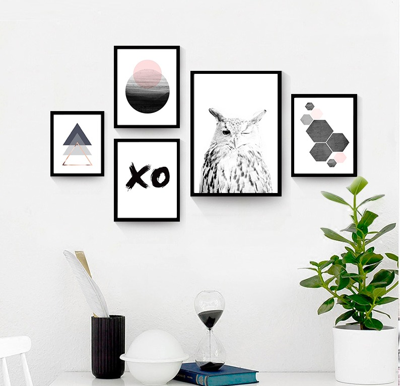 Cuadros C/marco De Madera,diseños A Elección,personalizados ...