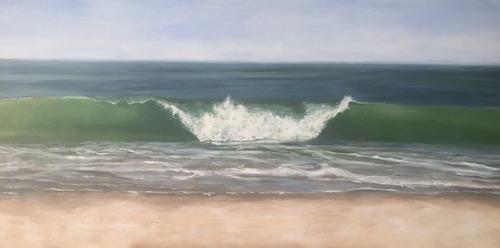 cuadros de autor, pinturas oleo figurativo desde $3000
