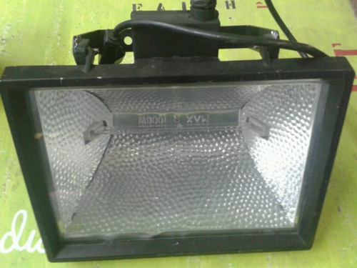 cuarzos, aluminio, lampara, halogena de 1000 alemana