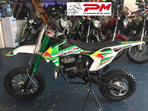 cuatri para niño 110 cc mini motos cros financiado 100% !!!!