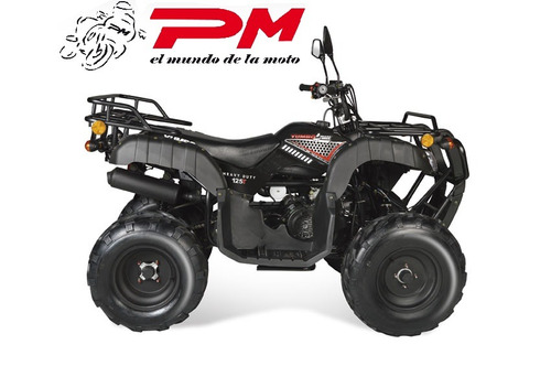cuatri yumbo 4track 125 t full todo terreno 100% financiado!