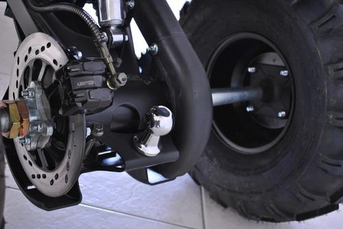 cuatriciclo 0km nuevo landforce automático 125cc rojo 4x2