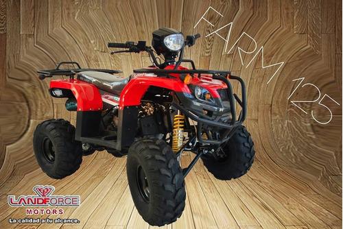 cuatriciclo + bolso 0km nuevo 125cc automático   landforce