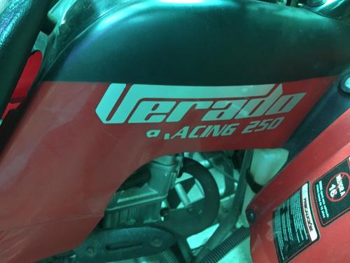 cuatriciclo casi nuevo oferta 250 racing verado pocos kms