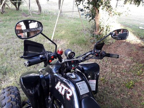 cuatriciclo mtr 200cc 4 cambios reversa manual único dueño
