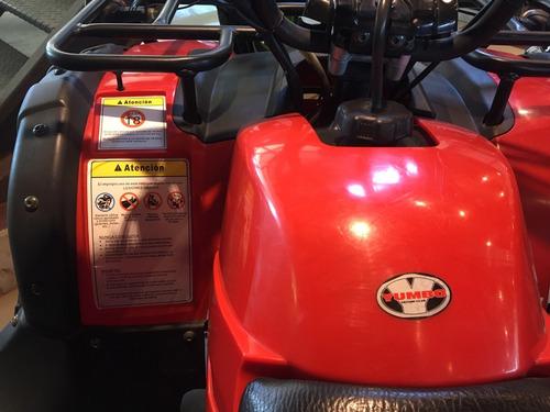 cuatriciclo yumbo 4 track 125cc perm,financ defranco motors