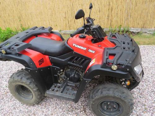 cuatriclo yumbo 250 cc 4 track con caja 5a. y marcha atras