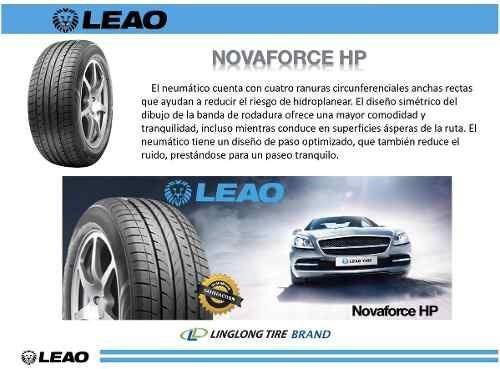 cubierta 185/55/15 leao nova force hp