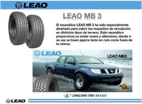 cubierta 235/75/15 camioneta leao lmb3 #oca