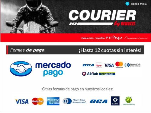 cubierta moto 2.75 - 18 tt del courier by pirelli