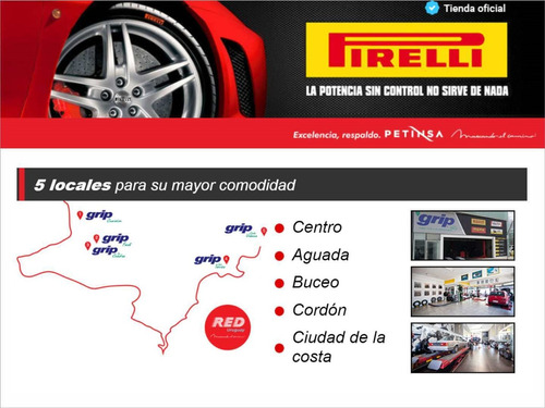 cubierta pirelli 185/60 hr 15 p7 xl