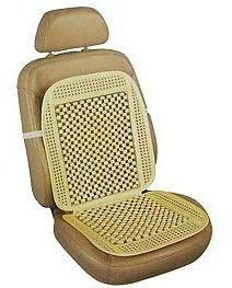 cubre asiento universal bolita con marco