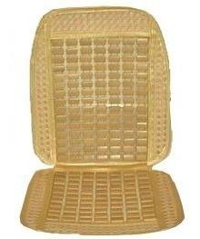 cubre asiento universal con marco bambú