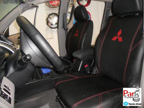 cubre asientos eco cuero alta gama a medida - fundas parís