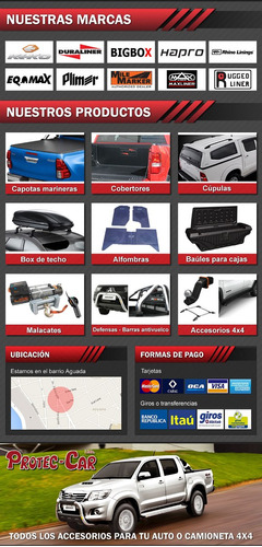 cubre caja mitsubishi new con borde cabina simple maxliner