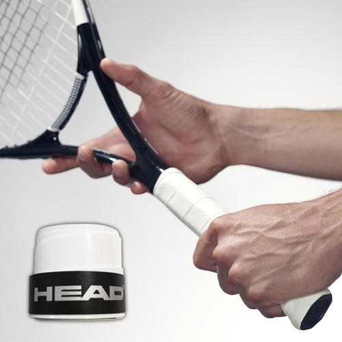 cubre grip head original p/ raqueta tenis profesional el rey