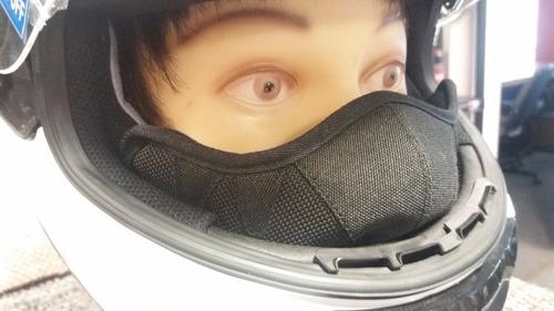 cubre nariz casco moto hjc original