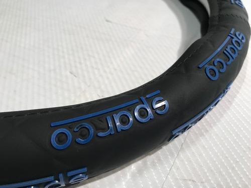 cubre volante deportivo tuning sparco goma 38cm a01