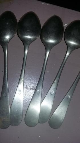 cucharas de alpaca oso germany son 9 y se venden juntas